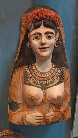 BM 2015 Egyptian lady on cartonnage 955