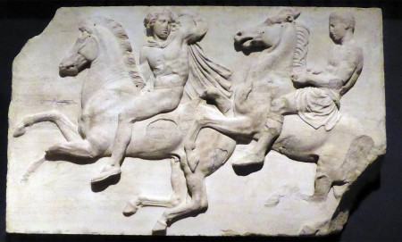 Bareback rider from the Parthenos