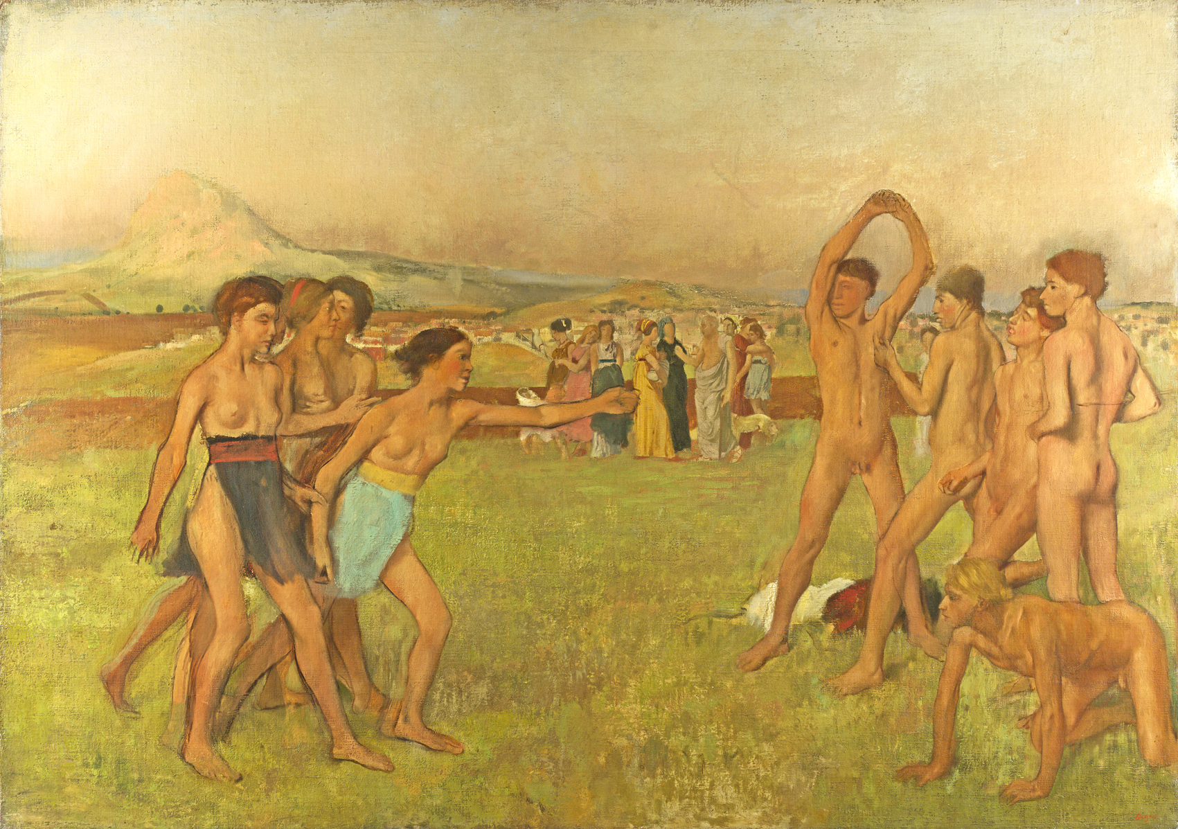Young_Spartans_National_Gallery