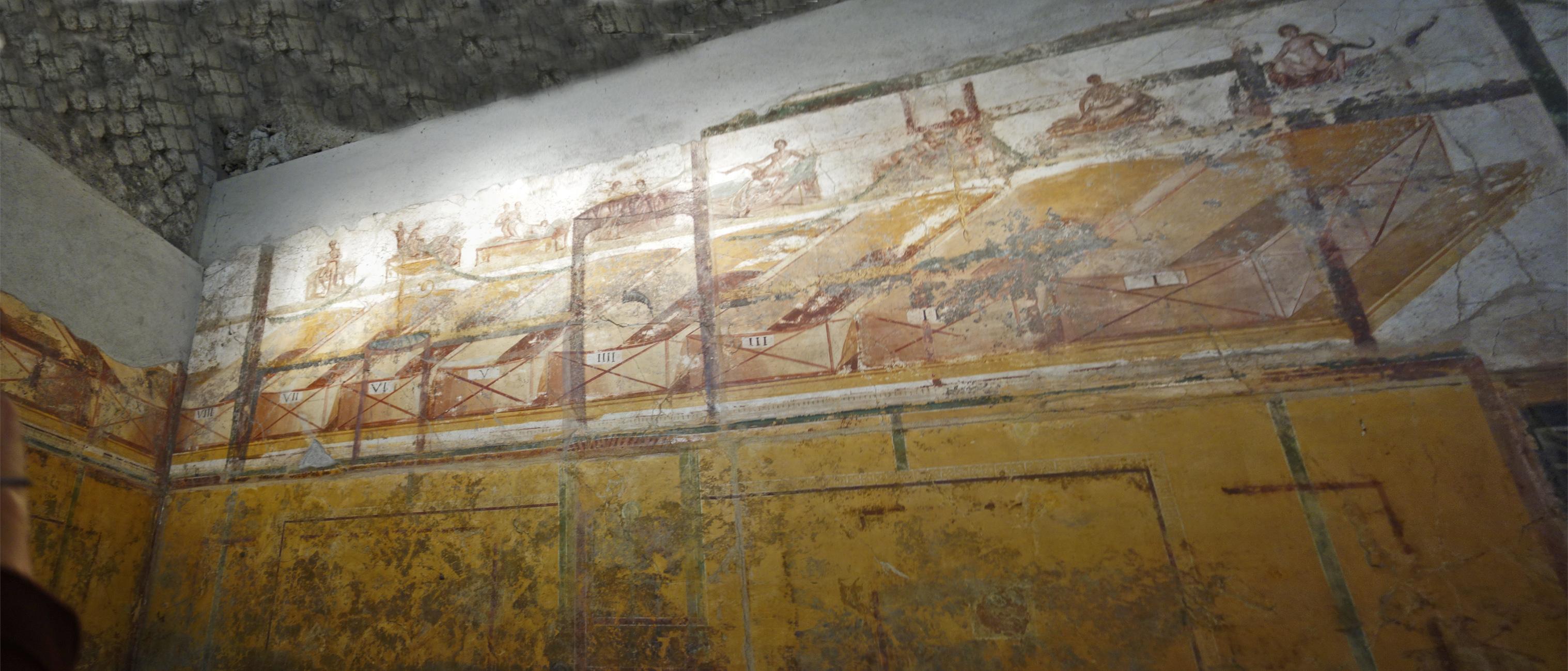 Pompeii suburban baths panorama 20-21
